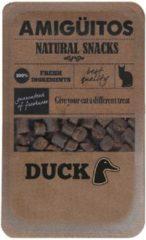 Amiguitos Cat Snack Duck - Kattensnack - 100 g