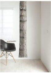 Donkergroene POM Amsterdam Snake sjaal met print 105 x 105 cm