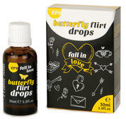 Hot Lustopwekkende Druppels Butterfly Flirt Drops 30ml divers