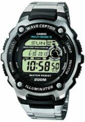 Zilveren Casio WV-200DE-1AVER - Horloge - Staal - Zilverkleurig - 47.7 mm