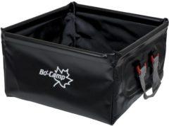 Zwarte Bo Camp Bo-Camp - Afwasbak - Opvouwbaar - 12 Liter - Zwart