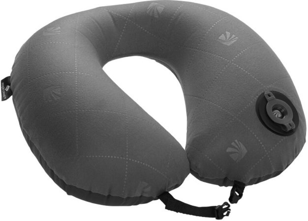 Afbeelding van Eagle Creek Exhale Neck Pillow - Reiskussen - One Size - ebony