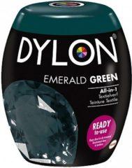 Donkergroene DYLON Textielverf Pods Emerald groen - Wasmachineverf - 350g