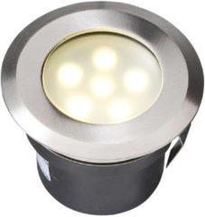 """Zilveren Garden Lights LED-Grondspot """"Sirius"""" roestvrij staal 4039601"""