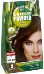 Henna Plus Colour powder 57 dark brown 100 Gram