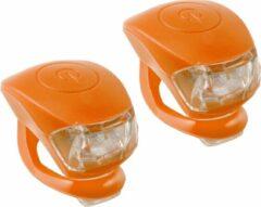 M-wave Verlichtingsset Led Oranje 2 Stuks