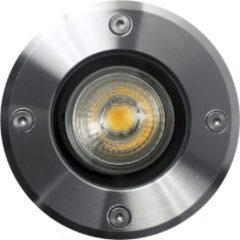 Roestvrijstalen Nostalux Grondspot LED Rond GU10