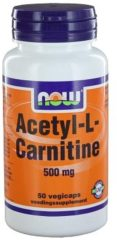 Now Foods Now Acetyl L Carnitine 500 Mg Trio (3x 50cap)