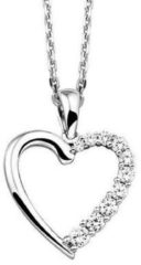 Zilveren The Jewelry Collection Selected Jewels Anchor Heart Ketting Dames 1320466 (45.00 cm)