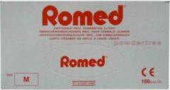 Romed Vinyl Handschoen Niet Steriel Poedervrij M (100st)