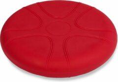 MediPreventie Wiebelkussen rood 33 cm - voor kinderen en volwassenen - trainingskussen - balanskussen