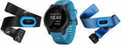 Blauwe Garmin Forerunner 945 triatlonbundel - Horloges