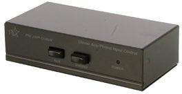 Afbeelding van HQ PRE AMP-12/AUX Stereo Voorversterker met schakelbare aux ingang