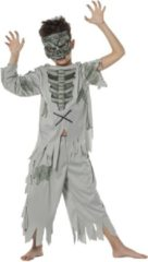 Grijze Wilbers Zombie pak voor kind