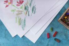 Witte CANSON tekenpapier 'C' à Grain, DIN A4, 224 g/qm