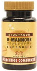 Artelle D-Mannose cranberry berendruif stootkuur 30 Tabletten