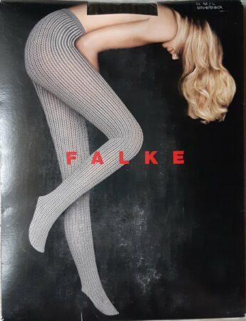 Afbeelding van Zwarte Falke fantasy panty maat M/L