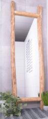 MD Interior Woody 200cm hoge staande spiegel met houten omlijsting