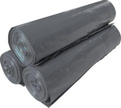 Dimensio Afvalzakken LDPE 70x110cm T50 zwart - Doos 250 stuks (10 rol x 25 zakken)