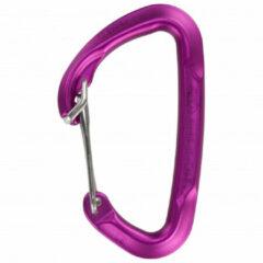 Climbing Technology - Berry Carabiner W - Niet-beveiligde karabiner maat Single, roze/purper