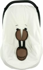 Witte Nagui - Hoes voor Autostoel / Maxi-cosi - Sweet White