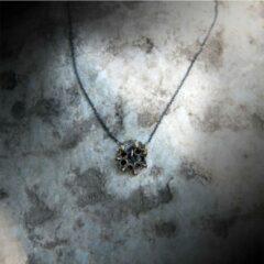 BiggDesign gedetailleerde ketting voor vrouwen originele sieraden | Mardin Stone Processing | Hanger in geoxideerd brons | Geoxideerde zilveren ketting ketting | Authentiek cadeau