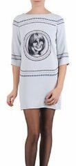 Grijze Korte jurk Brigitte Bardot BB43121