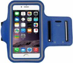 Go Go Gadget Sport Armband - Universeel - Verstelbaar - Hardlooparmband - Spatwaterdicht - Bescherming - Lichtgewicht - 78 x 150 mm (4,7 inch) - Blauw