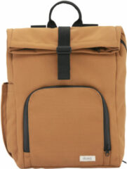 Dusq Vegan Bag Canvas sunset cognac backpack