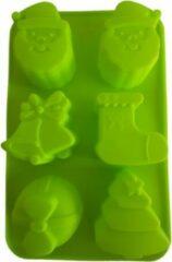 Groene Koozie.eu EIZOOKSHOP Kerstvorm Pakjes Kerstman Kerstboom - Bakken - Vriezen
