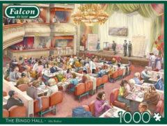 Falcon Legpuzzel Bingo Hall 68 X 49 Cm Groen/rood 1000 Stukjes