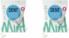 Denttabs Tandenpoets Tabletten mét Fluoride - 2x125 stuks