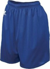 Marineblauwe Russell Athletic 9 inch Nylon Tricot Mesh Short - Navy - Large