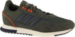 Donkergroene Adidas 8K 2020 Heren Sneakers - Legend Earth - Maat 42