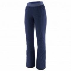 Patagonia - Women's Upstride Pants - Toerskibroek maat M, blauw/zwart