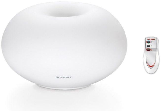 Afbeelding van Soehnle 68056 Milano Plus Aromaverspreider met LED-Verlichting Wit