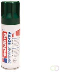 Edding 5200 permanent spray premium acrylverf mosgroen mat RAL 6005