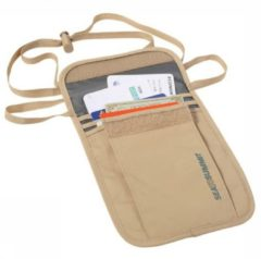 Sea to Summit - Neck Pouch - Buidels voor waardepapieren maat Small beige/grijs