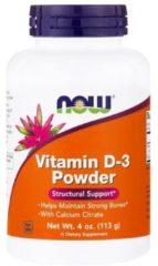 Vitamin D-3 Powder (113 gram) - Now Foods