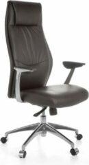 Bruine Amstyle Bureaustoel - Directiestoel - Lederen Bureaustoel - Bureaustoelen Voor Volwassenen