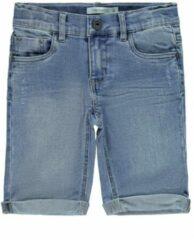 Blauwe Name It! Jongens Bermuda - Maat 98 - Denim - Jeans