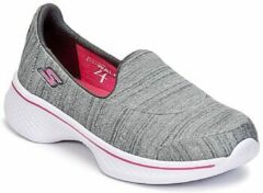 Grijze Sneakers Go Walk 4/Satisfy by Skechers