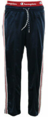 Blauwe Trainingsbroek Champion Straight Hem Pants
