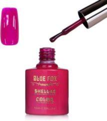 Roze Blue Fox Charm Pink Gelnagellak