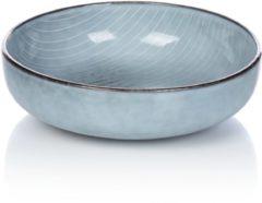 Suppenteller Broste Copenhagen grau/blau