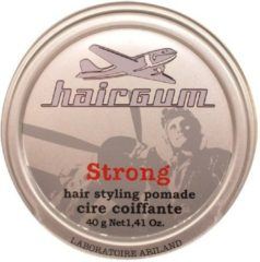 HAIRGUM STRONG HAIR STYLING POMADE WAX 40gr