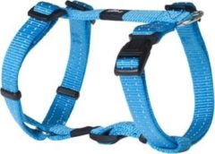 ROGZ FOR DOGS FANBELT TUIG VOOR HOND TURQUOISE #95; 20 MMX45-75 CM