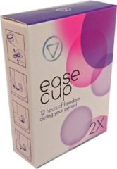 Easecup Platte menstruatiecup - menstruatiedisk 2 Stuks