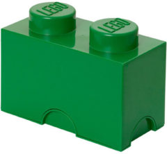 Donkergroene Lego Storage brick - Donker groen - 12,5 cm x 25 cm - 18 cm - 2L7