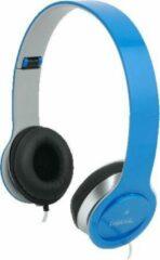 LogiLink HS0031 hoofdtelefoon/headset Hoofdband Blauw